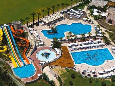 Отель Blue Waters Club 5* Сиде Турция