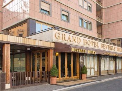 Отель Grand Hotel Beverly Hills 4* Рим Италия