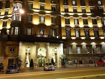 Отель Majestic Roma 5* Рим Италия