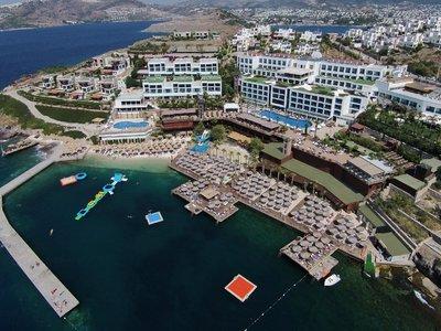 Отель Delta Hotel By Marriott Bodrum 5* Бодрум Турция