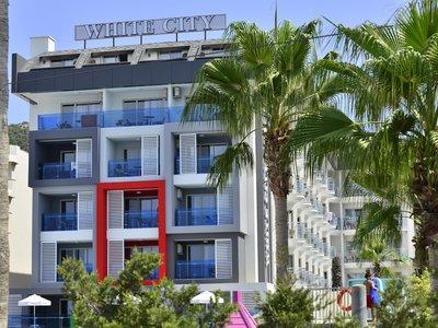 Отель White City Beach Hotel 4* Алания Турция