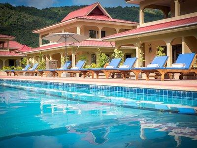 Отель Oasis Hotel Restaurant & Spa 4* о. Праслин Сейшельские о-ва