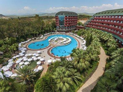 Отель Delphin Deluxe Resort 5* Алания Турция