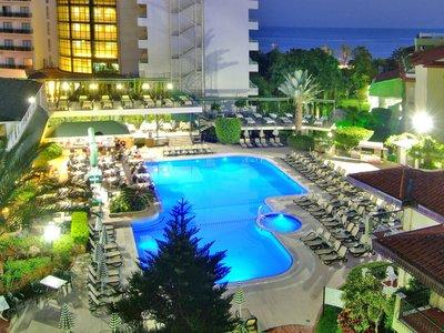 Отель Gardenia Beach Hotel 4* Алания Турция