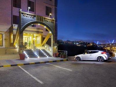 Отель Olive Hotel 3* Амман Иордания