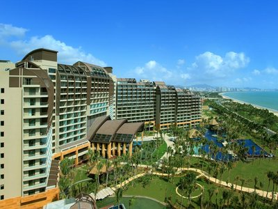 Отель Pullman Oceanview Sanya Bay Resort & Spa 5* о. Хайнань Китай