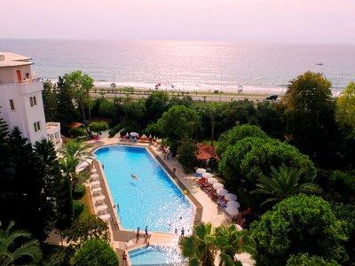 Отель Green Peace Hotel 3* Алания Турция