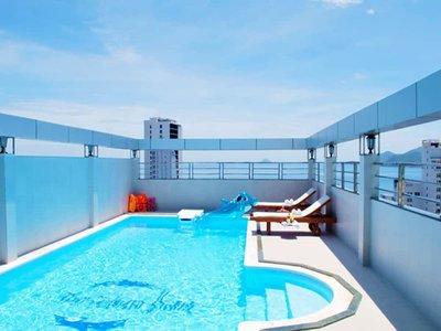 Отель Barcelona Hotel 3* Нячанг Вьетнам