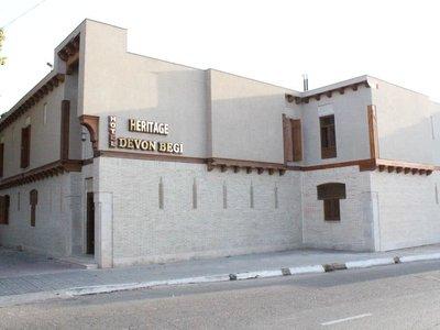 Отель Devon Begi 3* Бухара Узбекистан