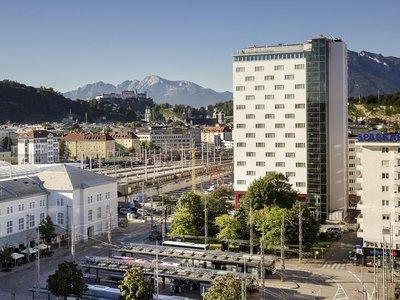 Отель Europa Salzburg Austria Trend Hotel 4* Зальцбург Австрия