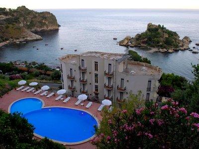 Отель Isola Bella 3* о. Сицилия Италия