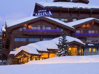 Отель Carlina Hotel 5* Куршевель Франция