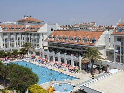 Отель Seher Sun Beach 4* Сиде Турция