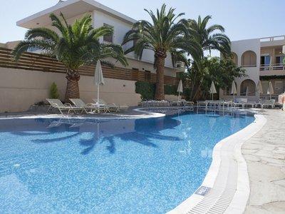 Отель Axos Hotel 3* о. Крит – Ретимно Греция