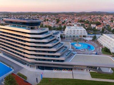 Отель Olympia Sky 4* Водице Хорватия