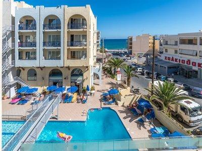 Отель Litsa's Lefkoniko Beach 3* о. Крит – Ретимно Греция