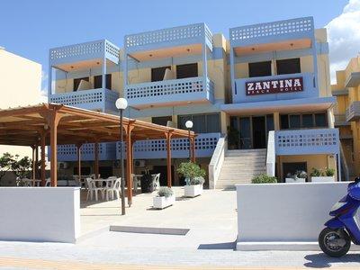 Отель Zantina Hotel 2* о. Крит – Ретимно Греция