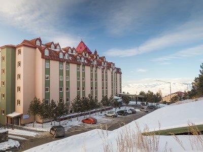 Отель Palan Ski & Convention Hotel 4* Паландокен Турция