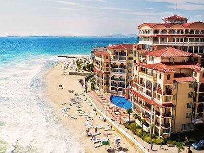 Отель Atrium Beach Hotel & Residence 4* Елените Болгария