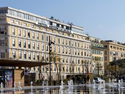 Отель Aston La Scala Hotel 4* Ницца Франция