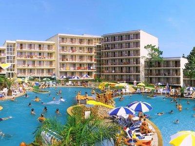 Отель Vita Park Hotel 3* Албена Болгария