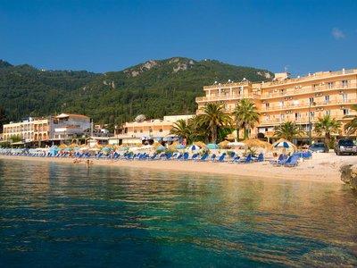 Отель Potamaki Beach Hotel 3* о. Корфу Греция