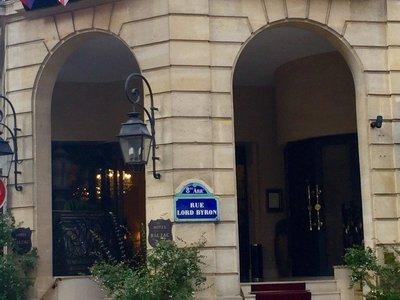 Отель Balzac Hotel 5* Париж Франция
