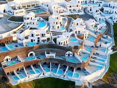 Отель Ambassador Aegean Luxury Hotel & Suites 5* о. Санторини Греция