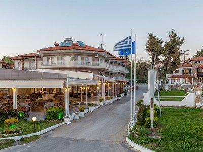 Отель Georgalas Sun Beach Hotel 2* Халкидики – Неа Калликратия Греция