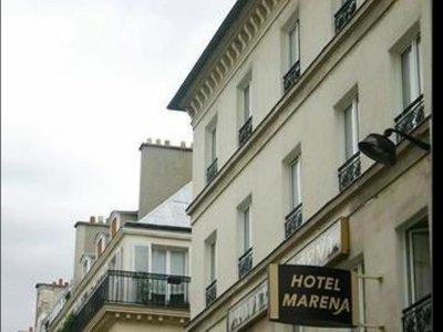 Отель Marena Hotel 3* Париж Франция