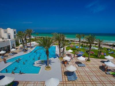 Отель Al Jazira Beach & Spa 3* о. Джерба Тунис