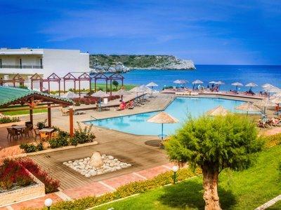 Отель Lutania Beach 4* о. Родос Греция