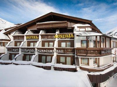 Отель Austria & Bellevue Hotels 4* Обергургль Австрия