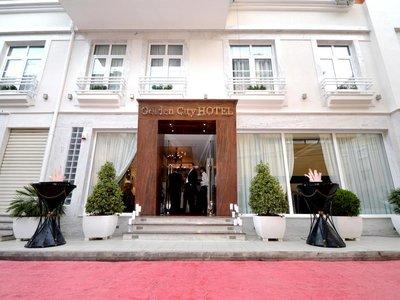 Отель Golden City Hotel 4* Тирана Албания