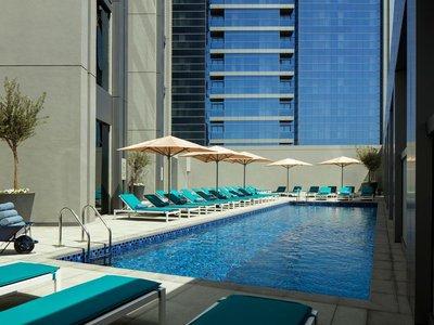 Отель Rove Dubai Marina 3* Дубай ОАЭ
