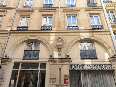 Отель Imperial Hotel 3* Париж Франция