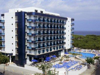 Отель Blaucel Hotel 4* Коста Брава Испания