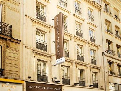 Отель New Hotel Saint Lazare 3* Париж Франция