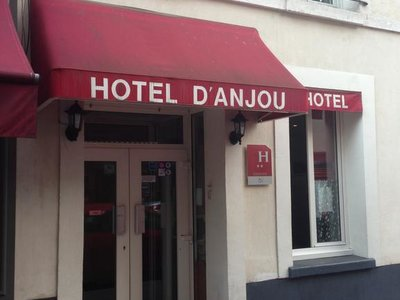 Отель D'Anjou Hotel 3* Париж Франция