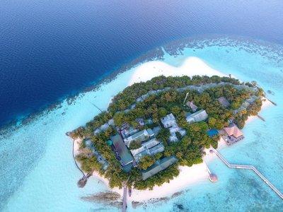 Отель Eriyadu Island Resort 4* Северный Мале Атолл Мальдивы