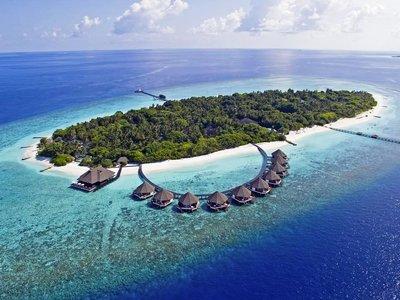 Отель Adaaran Prestige Water Villas 5* Раа Атолл Мальдивы