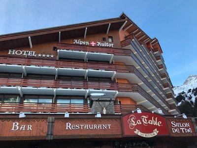 Отель Alpen Ruitor Hotel 4* Мерибель Франция