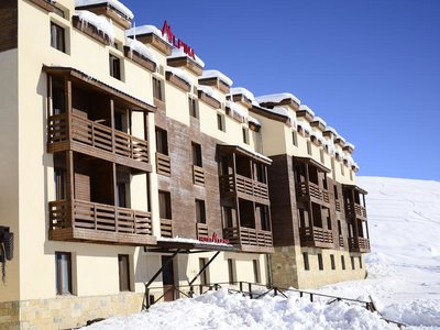 Отель Alpina Hotel 3* Гудаури Грузия