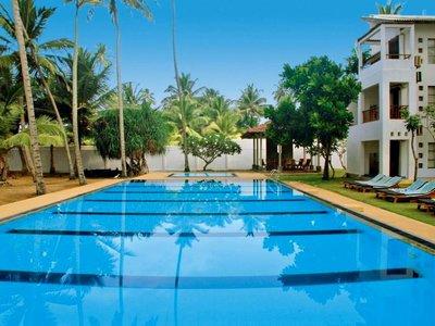 Отель The Privilege Ayurveda Beach Resort 4* Ваддува Шри-Ланка