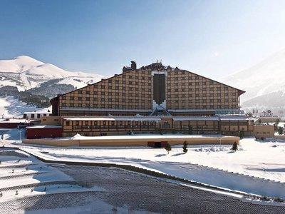 Отель Polat Erzurum Resort Hotel 5* Паландокен Турция