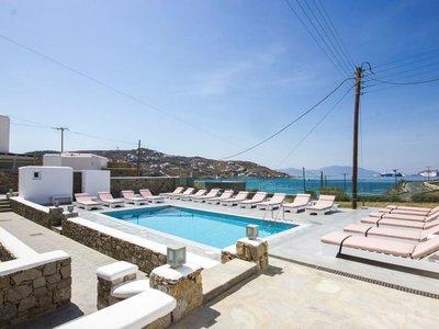 Отель Anixi Hotel 2* о. Миконос Греция