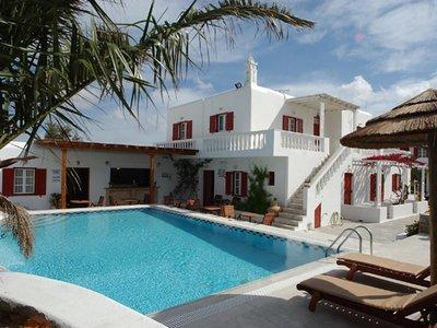 Отель Domna Hotel 2* о. Миконос Греция