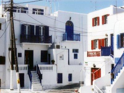 Отель Domna Lakka 2* о. Миконос Греция