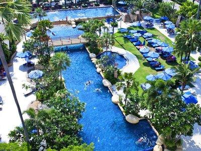 Отель Jomtien Palm Beach Hotel & Resort 4* Паттайя Таиланд