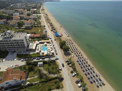 Отель Santa Beach Hotel 4* Салоники Греция